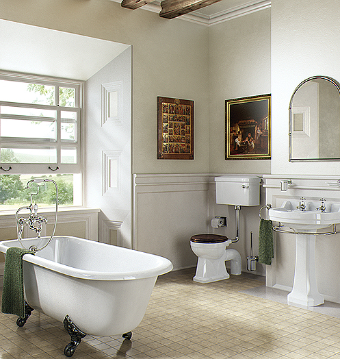 Edwardian Bathroom Ideas: The Touch Of Immaculate And