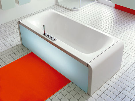Difference between Steel Baths and Standard Baths