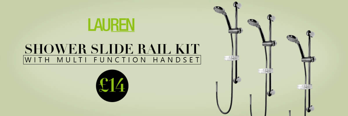 Lauren Shower Slide Rail Kit