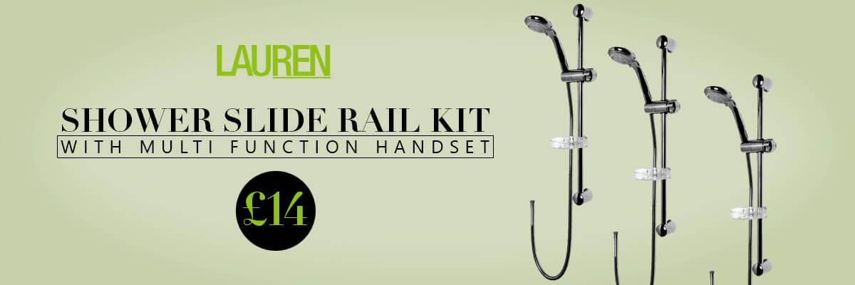 Lauren Shower Slide Rail Kit