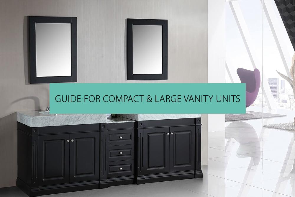 Compact Large Vanity Units, Large Bathroom Vanity