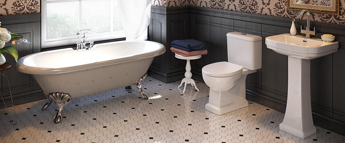 Designer Roll Top Bath Suite