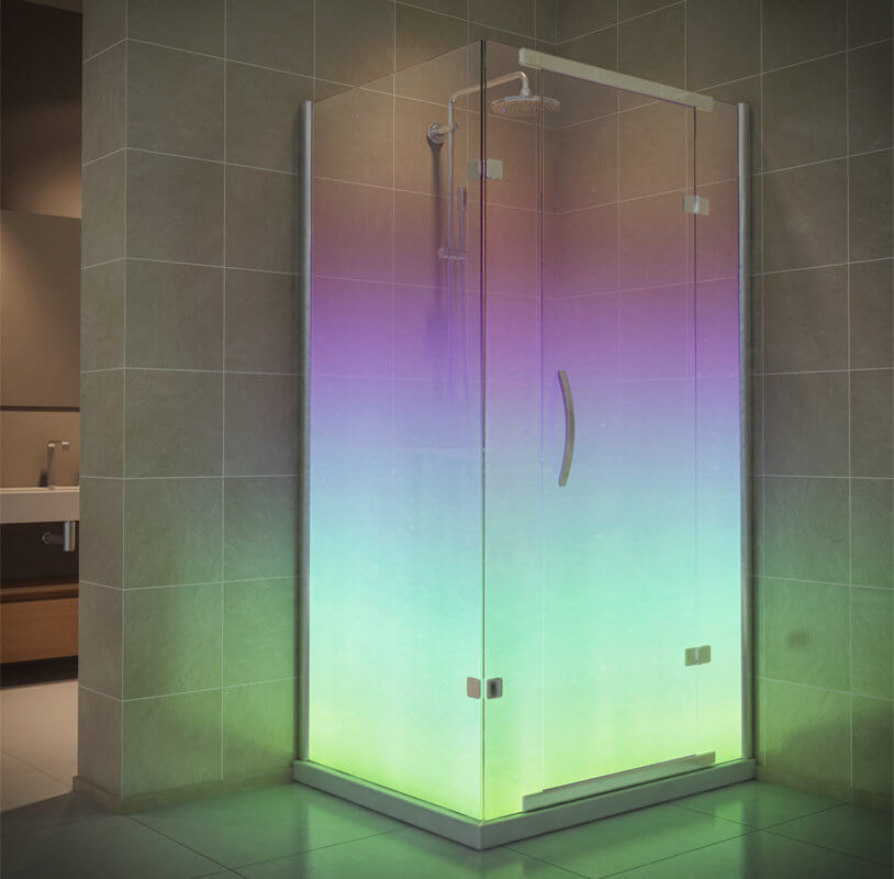 Northern Light Shower Cubicle