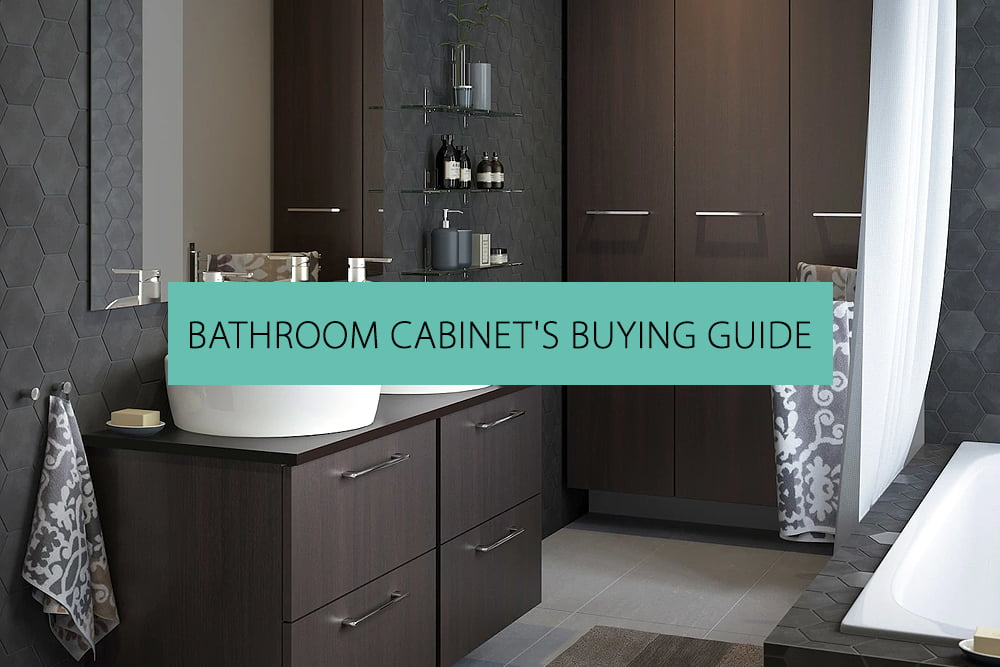 Buying Guide for Bathroom Cabinets | QS Supplies