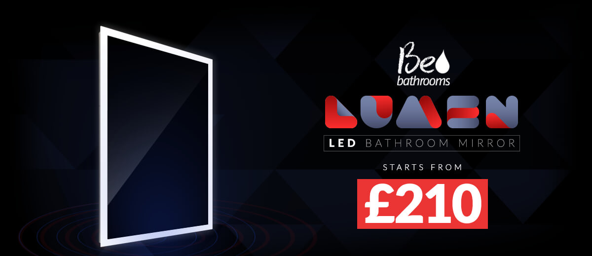 Beo Lumen 50 LED Bathroom Mirror 500 x 700mm