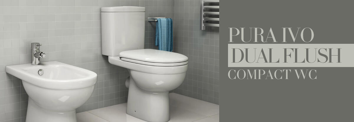 Pura IVO Close Coupled WC