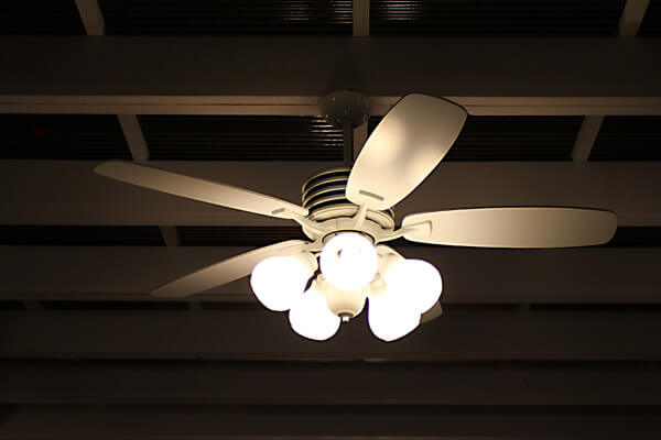 Ceiling mounted fans