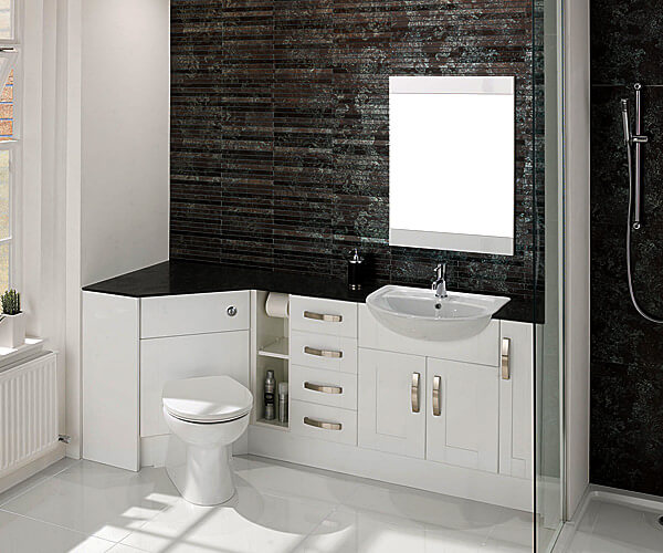 Corner Basin Unit Fitted Bathroom Furniture : How important is the storage factor?