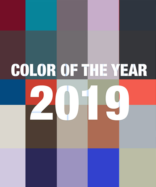 Colour of the Year 2019 - By Top 84 Interior Designers