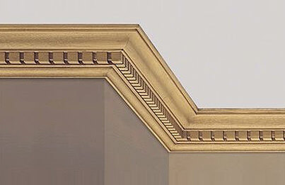 how to cut ceiling cornice