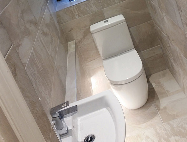 Roca Meridian-N Compact Back To Wall WC Set 600mm