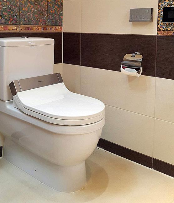 SensoWash Close Coupled WC And Cistern