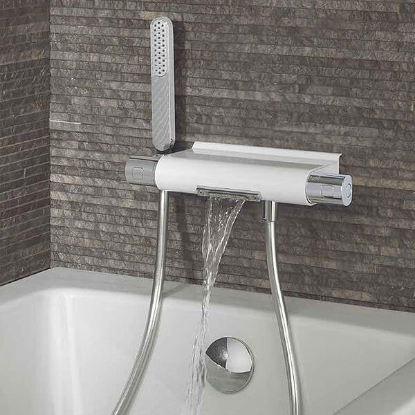 Thermostatic Bath Shower Mixer With Handset