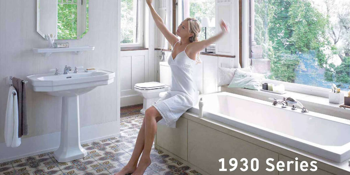 duravit 1930 series at qs supplies. Black Bedroom Furniture Sets. Home Design Ideas