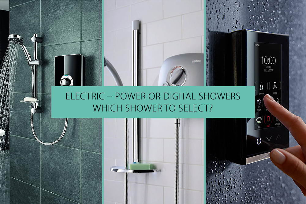Electric Power Digital Shower