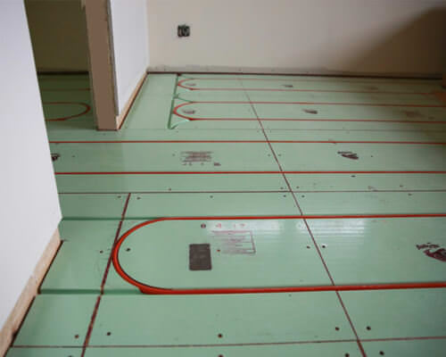 floor cooling and thermal active system