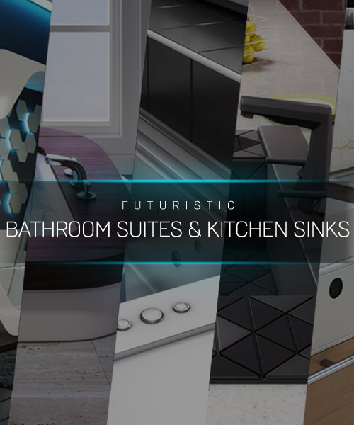 Futuristic Bathroom Suites & Sinks - Breaking Away the Tradition