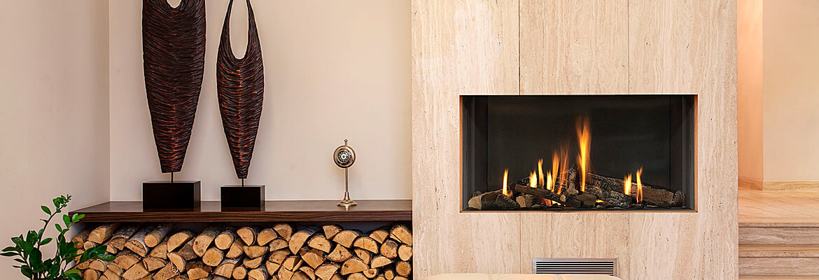 Flue-less gas fires