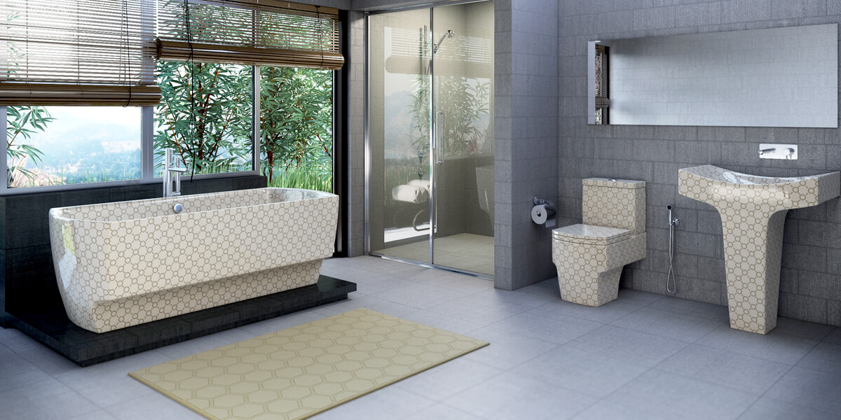 Cappuccino Bathroom Suite