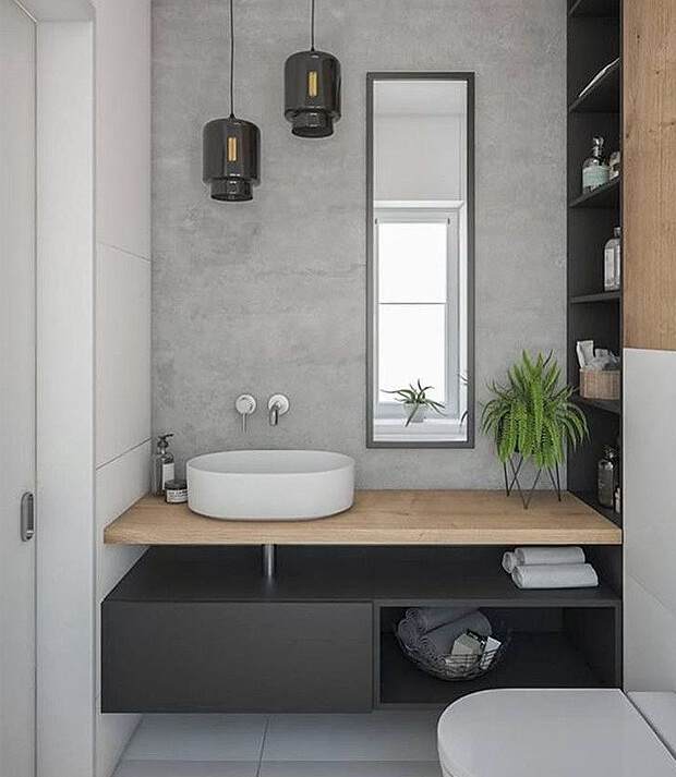 Grey Bathroom Decor