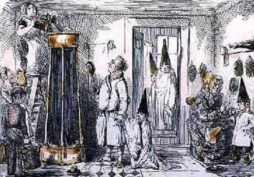 English Regency Shower
