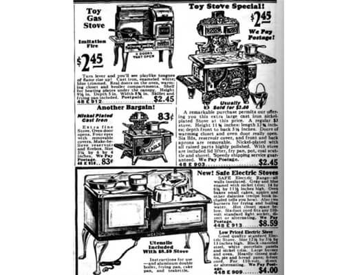 James Sharp patented gas stove