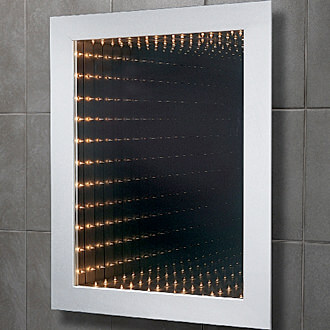 Inifnity Light Bathroom Mirrors