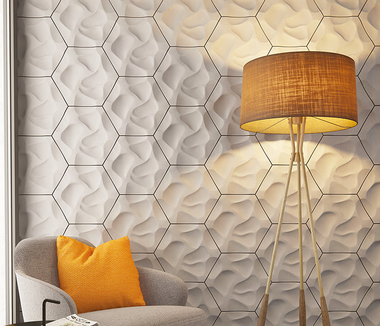 Hexagonal 3D Tiles