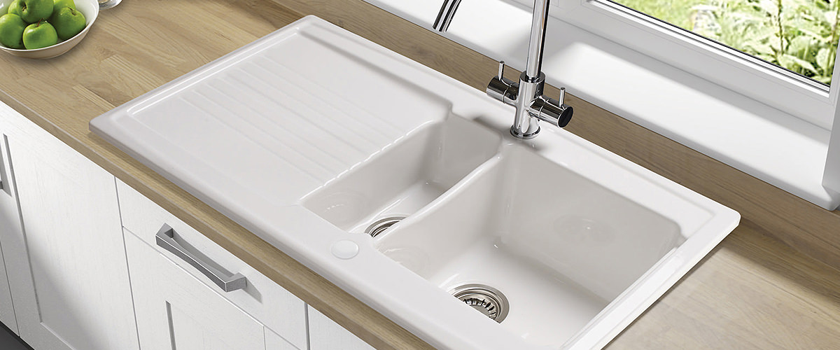 ceramic 1.5 bowl sink
