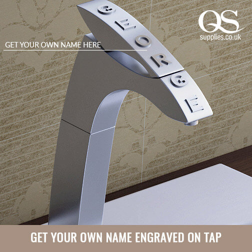 Design Your Custom Tap with Your Name Engraved
