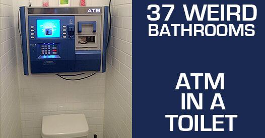 37 Weird & Strange Bathrooms ! QS Supplies