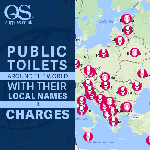 Public Toilets around the World - Toilet Types - Local Names & Charges