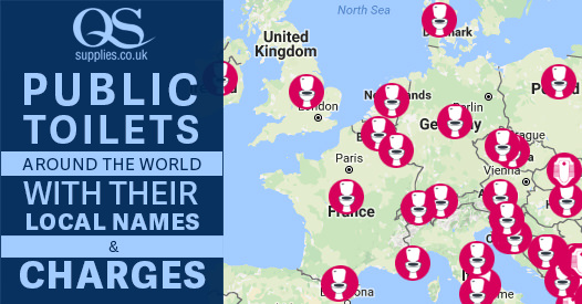Public Toilet Charges around the World - Toilet Types Local Names