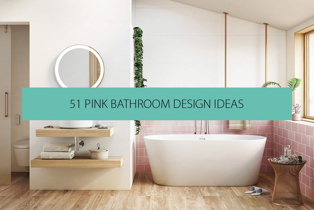 Bathroom Ideas 51 Pink Bathrooms Design Ideas