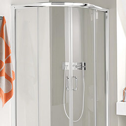 Simpsons Supreme Luxury Curved 1200x800mm Shower Enclosure