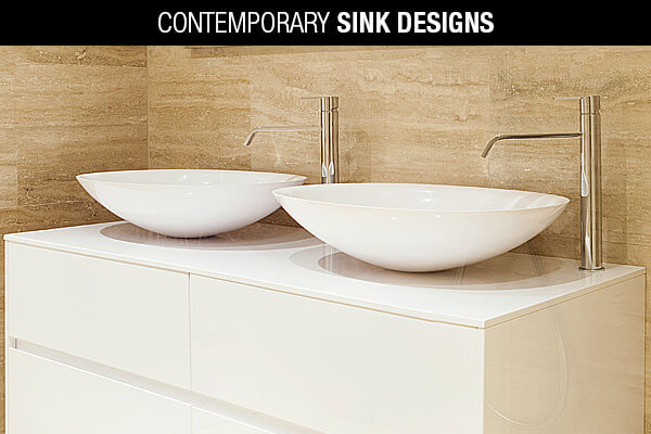 Contemporary Sink Designs