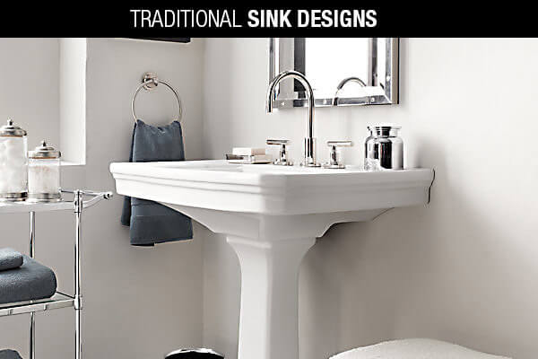 Traditional Sink Designs