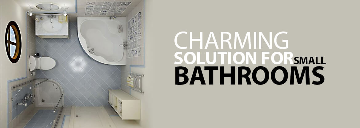Charming Solutions For Small Bathrooms