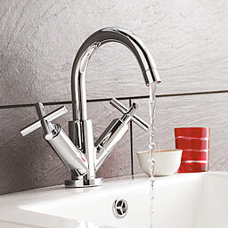 Ultra Helix Crosshead Bath Filler And Basin Mixer Tap Pack