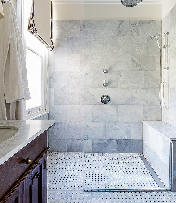 Traditional Style Wet Room