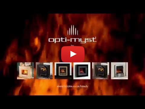 Breathtaking. Captivating. Unbelievable. Opti-myst electric fires