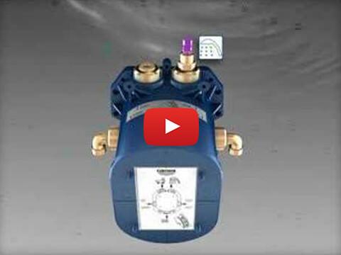 Vorbereitung der GROHE Rapido Thermostat-Montage