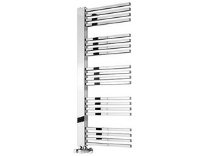 Reina Dexi 530 x 660mm Chrome Steel Designer Radiator