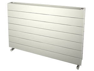 Reina Flatco Type 22 Steel 400 x 588mm White Designer Radiator
