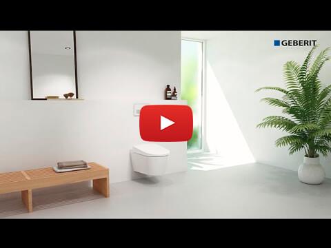Geberit AquaClean Sela water connection 5cm – Installation
