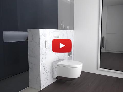 Geberit AquaClean Mera - Installation