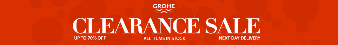 Grohe Clearance Sale